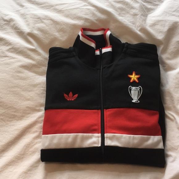hot sale online 8b94a 87d42 Adidas AC Milan zip up